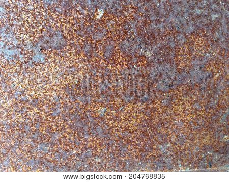 Old grunge rust metal texture use for background