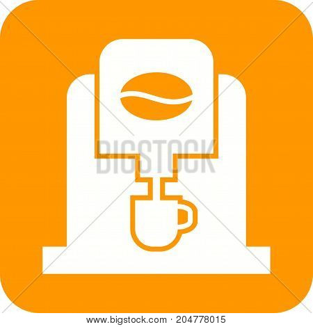 Coffee, machine, cafe icon vector image. Can also be used for Cafe and Bar. Suitable for web apps, mobile apps and print media.