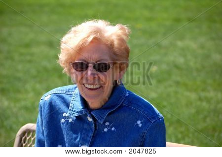 Grandma At The Park