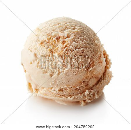 Caramel Ice Cream Ball