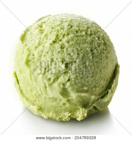 Green Apple And Mint Ice Cream Ball
