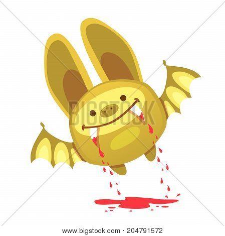 Bat and halloween illustration. Halloween Bat Icon