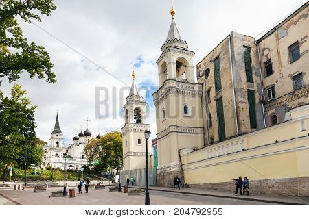 Ivanovsky (st John The Baptist) Convent In Moscow