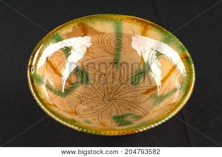 Oriental Antique Ceramic Plate