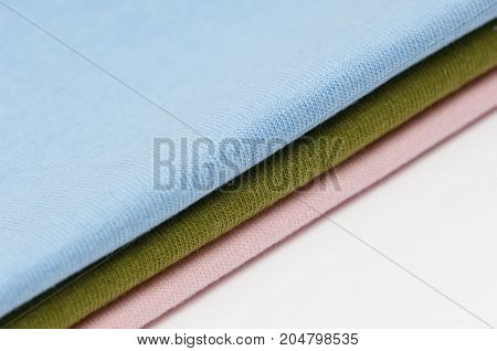 Backgrounds Of Fabrics And Textiles