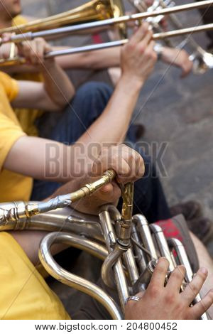 Playing Wind Instruments