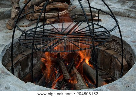 Metal Structure Smokehouse