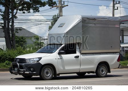 Private Pickup Truck Car Toyota Hilux Revo With Container.