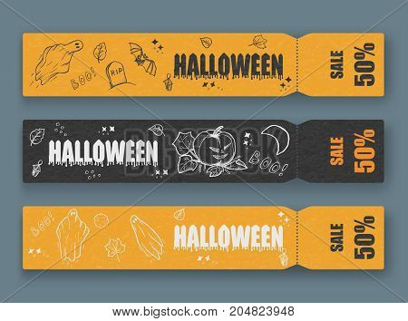 ghosts for Halloween on white background. cute ghosts characters. vector illustration eps 10