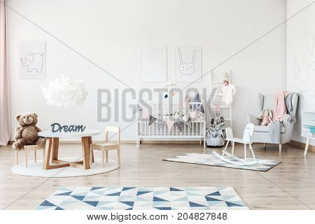 Child's Bedroom With Toys