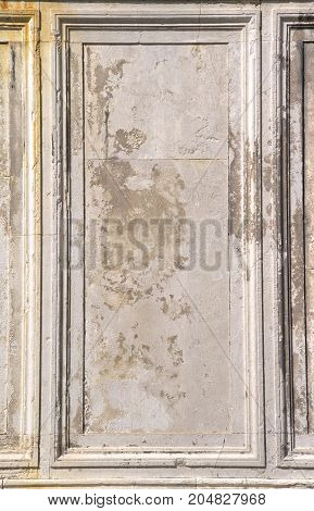 A frame created by the architectural details of Venice, Italy.