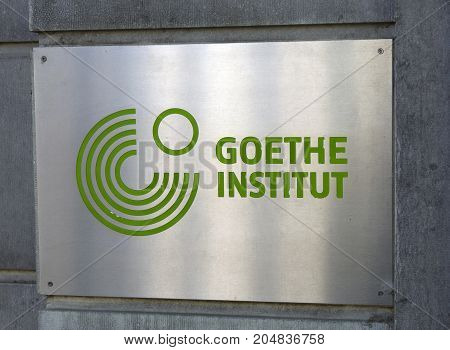 Goethe-institut On A Building In Amsterdam