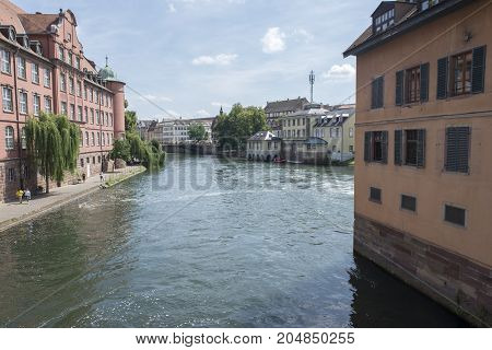 The Beautiful City Of Strasbourg In France