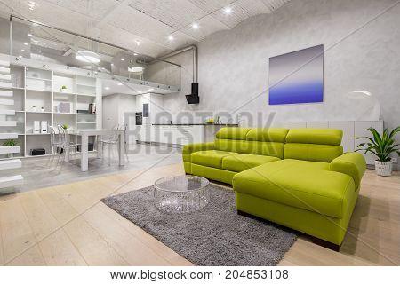 Loft Apartment With Mezzanine