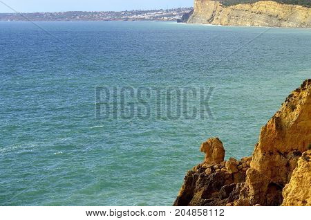 Ponta Da Piedade spectacular rock formations Camels head on the Algarve coast