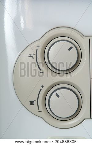 Temperature Control Dial For Central Heating At Home