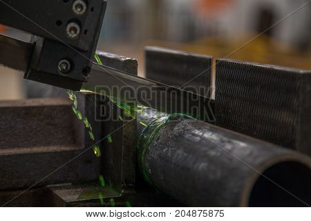 Industrial Cut Tube Machine