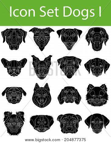 Icon Set Dogs I