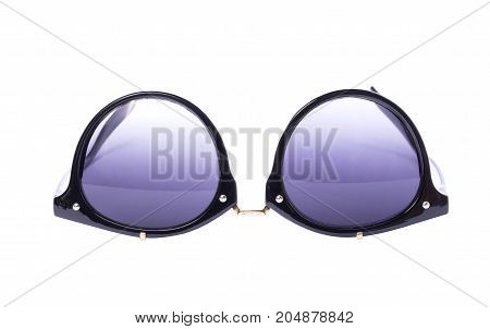 Vintage fashion style Sunglasses isolate on white background