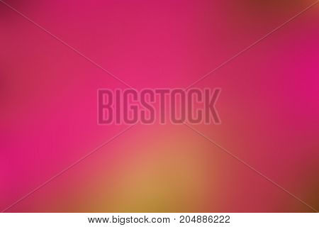 The Beautyful Of Pink Blurry And Yellow Glow Blackground