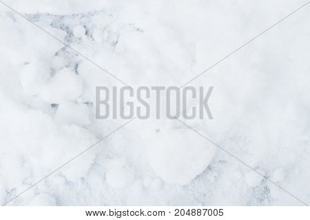 a clean white snow background texture with nobody.