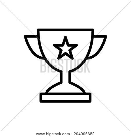 Premium award icon or logo in line style. High quality sign and symbol on a white background. Vector outline pictogram for infographic, web design and app development.