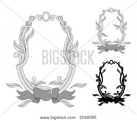oval frame tattoo design victorian vector oval frame photo free trial bigstock