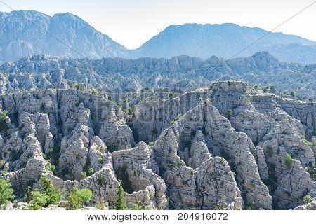 most dangerous mountainous region of the mediterranean region