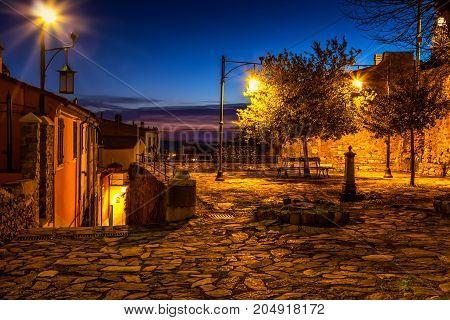 Night In Portovenere, Italy
