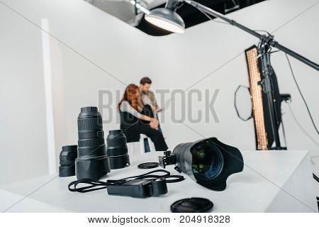 Digital Photo Camera And Lenses