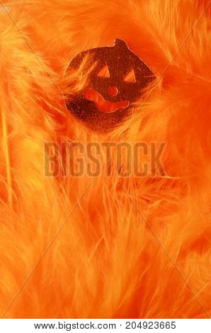 Orange Autumn Background