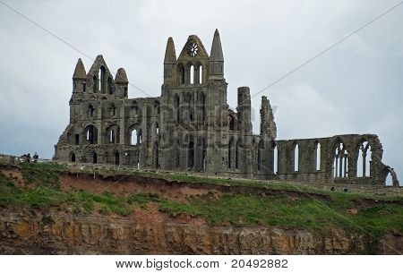 northern aspect whitby abbey