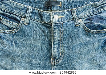 Close Up jeans zipper denim fashion texture background