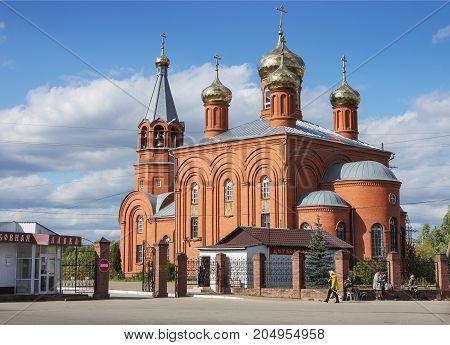Stone Church Of All Saints  In Nizhny Novgorod. Russia