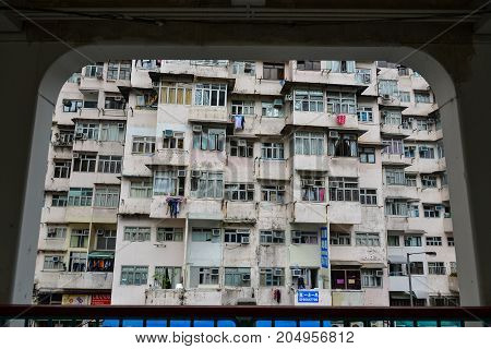 Old Buildings Located In Hong Kong