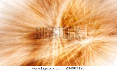 golden festive abstract background of firework lights