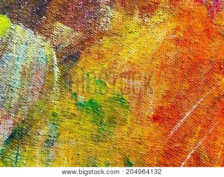 Abstract colorful texture of paint watercolor background for wallpaper. Creative and design art work.