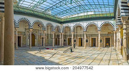 In Madrasa Bir Lahjar, Tunis
