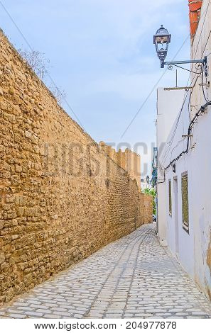 The Wall Of Sousse Medina