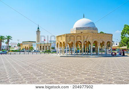 Habib Bourguiba Complex In Monastir