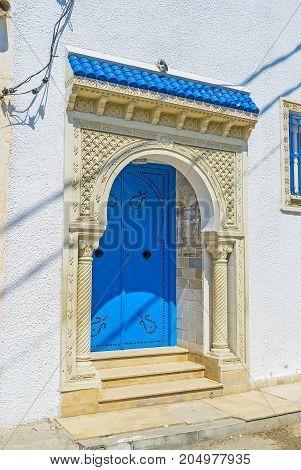 Arabic Door In Monastir