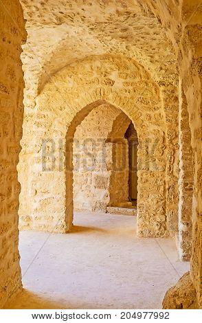 The Corridors Of Ribat, Monastir