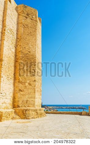The Fortress On Monastir's Coast
