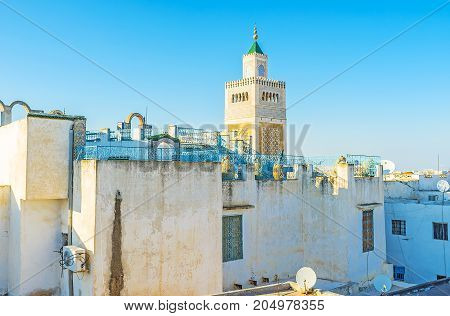 The Roofs Of Old Tunis