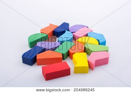 Colorful Pieces Of A Logic Puzzle