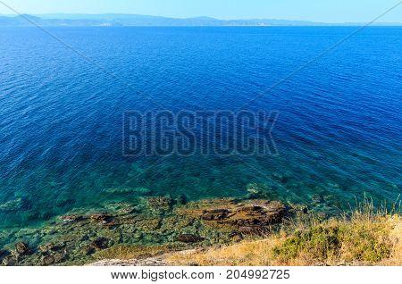 Summer Sea View(halkidiki, Greece).