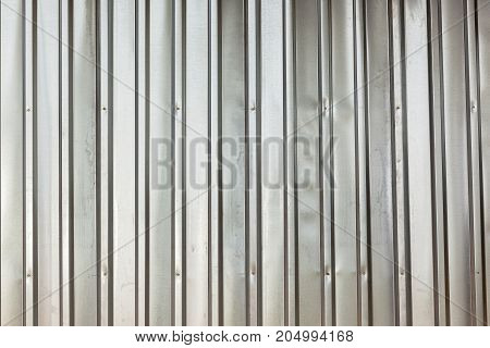 Metal Sheeting Closeup