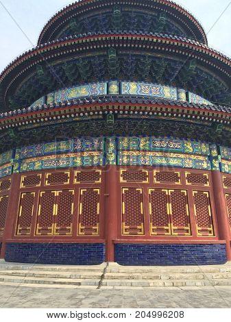 Templo del Cielo, Heaven temple China Colores