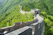 Great Wall of China at Mutianyu (Beijing) poster