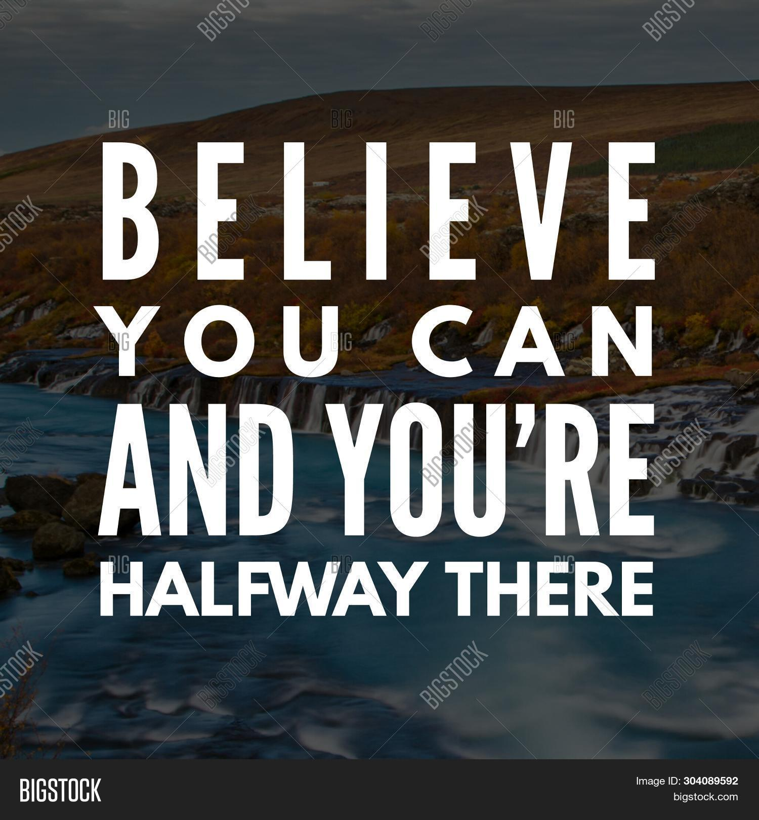 Positive Quotes. Best Image & Photo (Free Trial) | Bigstock